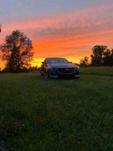 CTS V-Sport Sunset