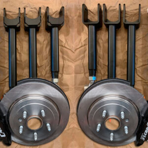 ATS-V Carlyle brake and suspension kit