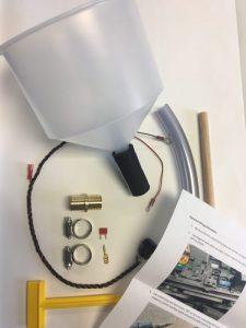 Intercooler fill kit