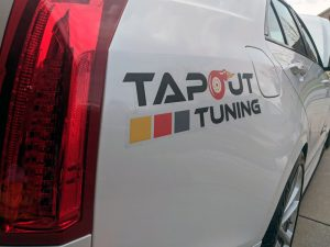 Tapout Tuning sticker