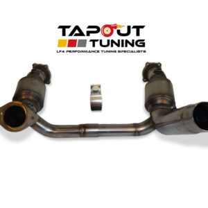 Tapout ATS-V performance downpipe