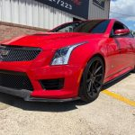 Red ATS-V Houston Texas