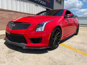 Red ATS-V Houston Texas