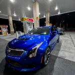 Blue ATS-V thirsty